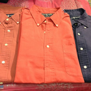 Wholesale branded men's shirts stocklot - used and renewed
