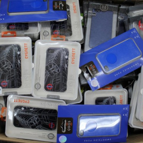 Mobile phones and smartphones accessories excess stock