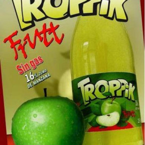 Troppic apple drinks residual stock