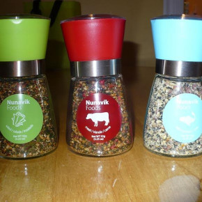 Nunavik Foods seasonings in 3 Flavors