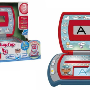 Game Cyber Laptop Italian / English - CHICCO (3-5 years)