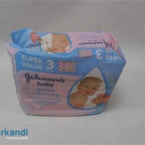 Baby wipes johnsons, 56