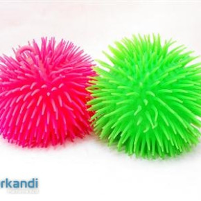 Ball spiny silicone vil