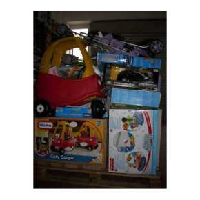 Mixed pallets of Disney, Fisher Price, Lego, Mamas&Papas toys, games and nursery