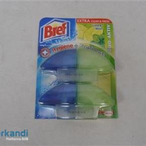 Bref toilet-gel after loading 2x60ml Lime