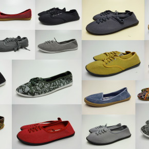966 pair ballerina shoes and sneakers