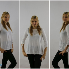 Blouse for women: in two colors