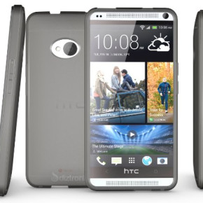 Ultra slim and lightweight TPU Case for HTC One M7