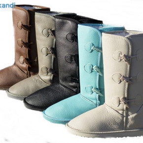 Waterproof leather boots EMO Thigh STOCK