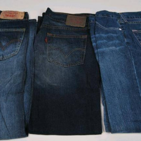 Levis clothes - ends of line