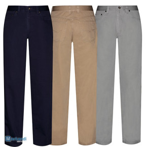 Lot 5 pocket pants man