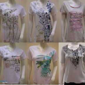 MODERN DESIGN, QUALITY SUMMER T-SHIRTS FOR WOMEN (WHOLESALE PRICE)