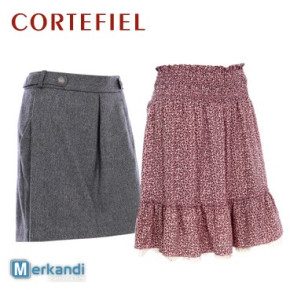 CORTEFIEL women's skirts at wholesale price