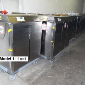 Warming & Cooling systems for food distribution