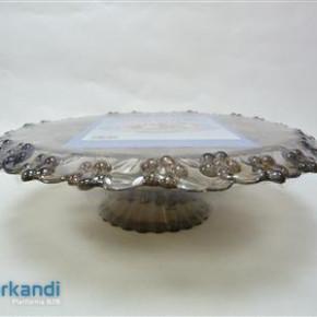 Cake tray sole plastic, glass PRY several