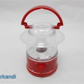 Camping light bluered