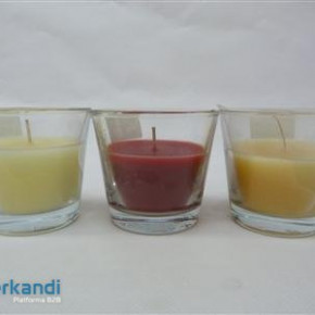 Candle fragrant cups cocnut