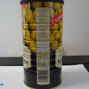 Canned olives 1460g