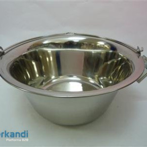 Cauldron stainless, enamel stand Italia, Grán, etc. SEVERAL