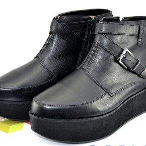 Ladies *Office* Leather Ankle Boots