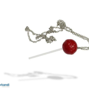 Fashion accessories shaped like candies