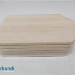 Cutting board set wooden piece of 6