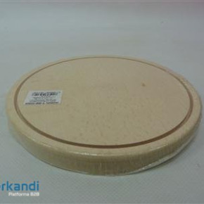 Cutting board wooden round 20 cm small