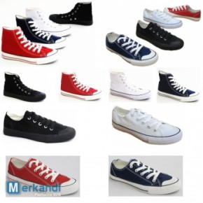 Fashionable women children men's casual shoes each pair from 2.50 EUR