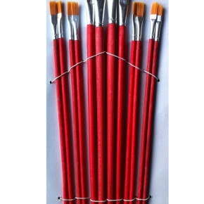 Set of large brushes 12 pieces (MJ914)
