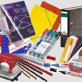 Mixed pallets of stationery and office equipment