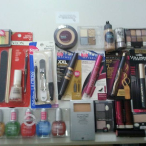 Maybelline, L'Oréal, Max Factor and  Rimmel cosmetics