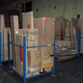 Complete flat pack furniture stock
