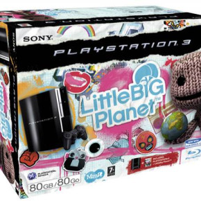 Sony PS3 80 GB + Big Little Planet game