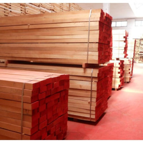 Beech timber super short steamed edged AB quality
