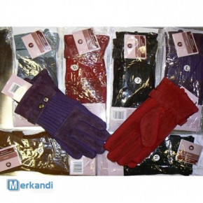 Gloves for women, leather-MATERIAL
