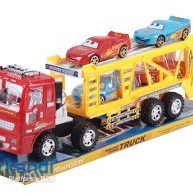 Transporter express truck.included four cars