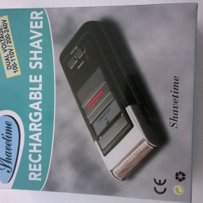 liquidation stock of rechargable Shaver