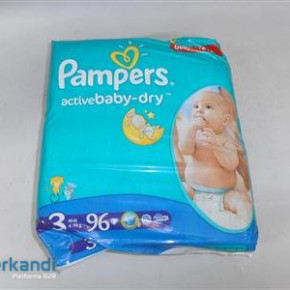 Diapers Pampers Several
