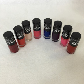 Maybelline Colorama Nail Polish £0.25 per piece. Mixed Colours.