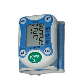 CH-671 CITIZEN WRIST MEASURING AUTOMATIC BLOOD PRESSURE MONITOR