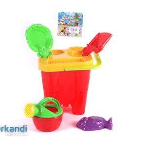 Beach Toy Bucket with accessories  pcs24
