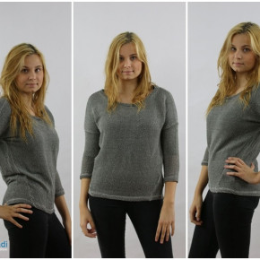 Sweater in four colors