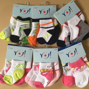 Yo! Baby socks — MIX packs of 3