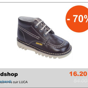 Private Sales B2B Overstock Chaussures cuir LUCA