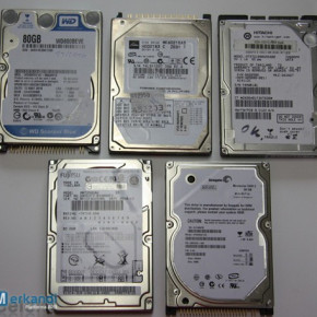 """HARD DISK HDD FOR LAPTOP 80 GB IDE ATA PATA 2,5"""""""