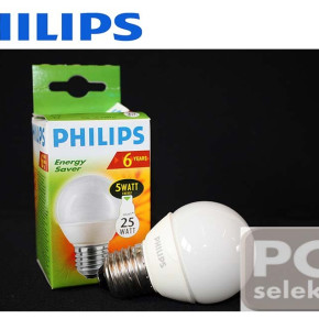 Philips bulb ball ECO Lustre 5W / 25W E27