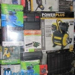 Wholesale pallets of powertools and homeware products