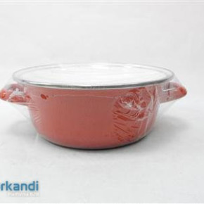 Enamel Pan cast 22 cm 2, 9 Lit + cover