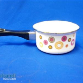 Enamel pan with handle 12, 14, 16, 18, 20 cm PRY several