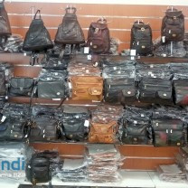 20 x Leather Bags pack bag backpack leather bags per 8,50 €